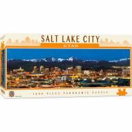 American Vistas Salt Lake City 1000 Piece Panoramic Puzzle
