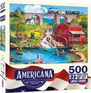Americana Labor Day 1909 500 Piece EZ Grip Puzzle