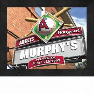 Los Angeles Angels 11 x 14 Personalized Framed Sports Pub Print