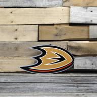 """Anaheim Ducks 12"""" Steel Logo Sign"""