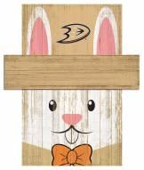 """Anaheim Ducks 19"""" x 16"""" Easter Bunny Head"""