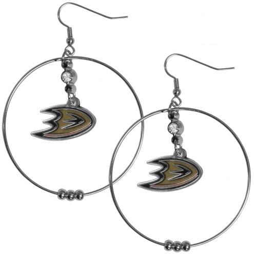 """Anaheim Ducks 2"""" Hoop Earrings"""