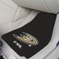 Anaheim Ducks 2-Piece Carpet Car Mats