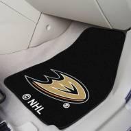Anaheim Ducks 2-Piece Carpet Car Mats