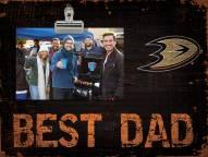 Anaheim Ducks Best Dad Clip Frame