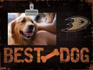 Anaheim Ducks Best Dog Clip Frame