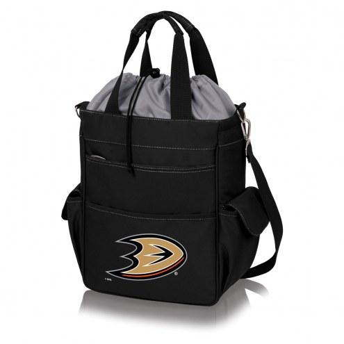 Anaheim Ducks Black Activo Cooler Tote