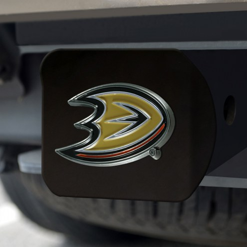 Anaheim Ducks Black Color Hitch Cover