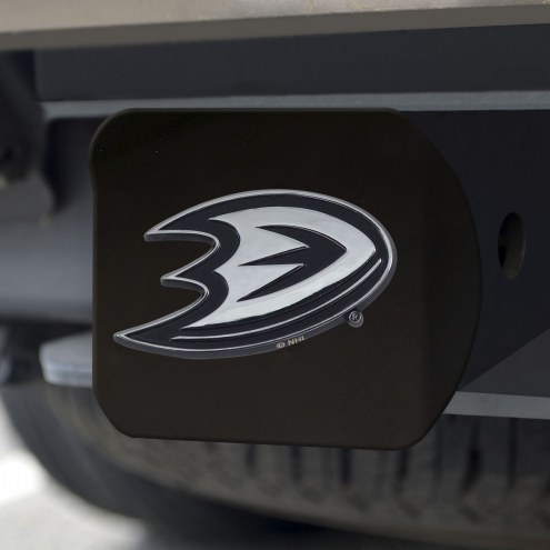 Anaheim Ducks Black Matte Hitch Cover