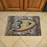 Anaheim Ducks Camo Scraper Door Mat