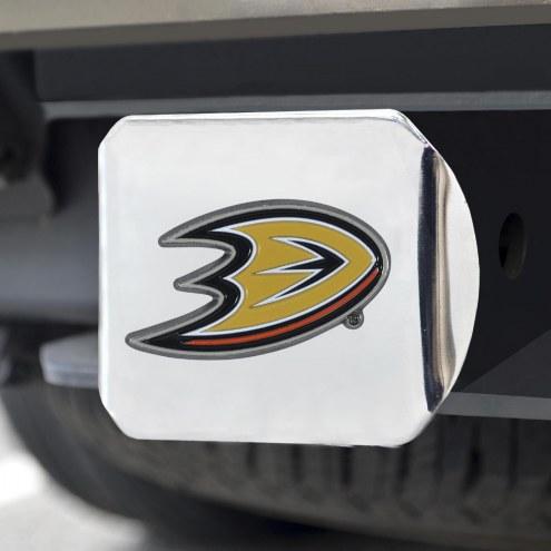Anaheim Ducks Chrome Color Hitch Cover