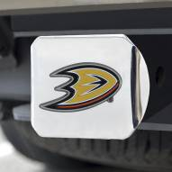 Anaheim Ducks Chrome Color Hitch Cover
