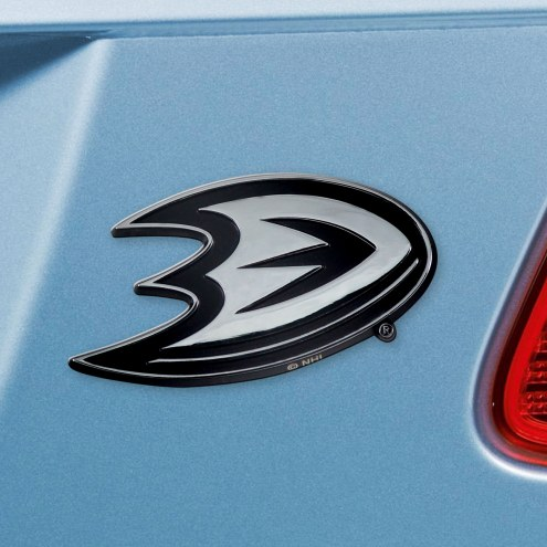Anaheim Ducks Chrome Metal Car Emblem