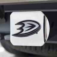 Anaheim Ducks Chrome Metal Hitch Cover