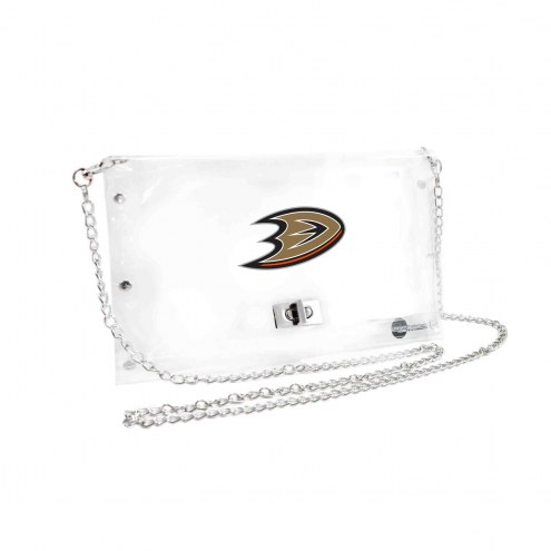 Anaheim Ducks Clear Envelope Purse