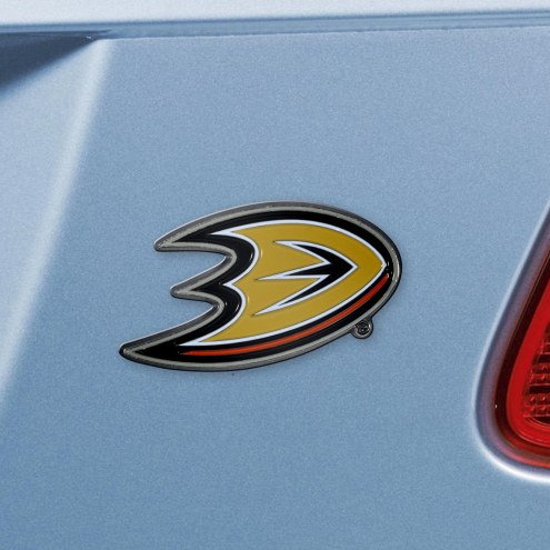 Anaheim Ducks Color Car Emblem