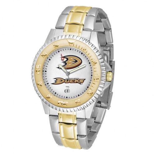 Anaheim Ducks Competitor Two-Tone Men's Watch