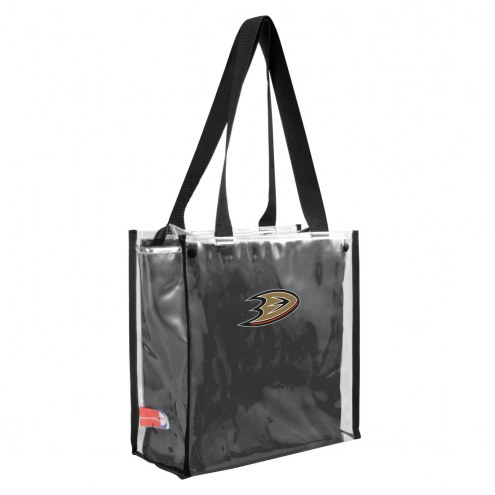 Anaheim Ducks Convertible Clear Tote