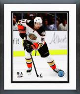 Anaheim Ducks Dany Heatley Action Framed Photo