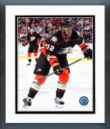 Anaheim Ducks Devante Smith-Pelly Action Framed Photo