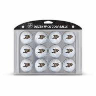 Anaheim Ducks Dozen Golf Balls