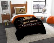Anaheim Ducks Draft Twin Comforter Set