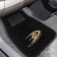 Anaheim Ducks Embroidered Car Mats