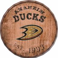 "Anaheim Ducks Established Date 24"" Barrel Top"
