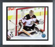 Anaheim Ducks Frederik Andersen Playoff Action Framed Photo