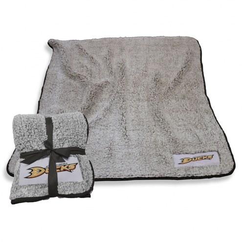 Anaheim Ducks Frosty Fleece Blanket