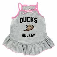 Anaheim Ducks Gray Dog Dress