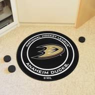 Anaheim Ducks Hockey Puck Mat