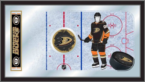 Anaheim Ducks Hockey Rink Mirror