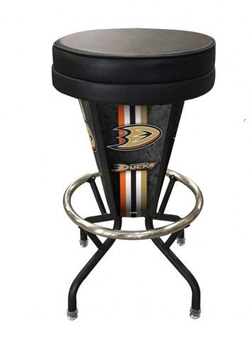 Anaheim Ducks Indoor Lighted Bar Stool