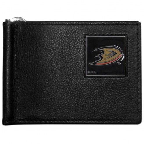 Anaheim Ducks Leather Bill Clip Wallet