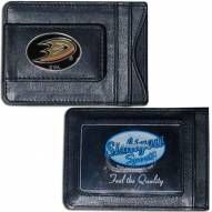 Anaheim Ducks Leather Cash & Cardholder