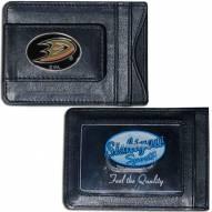 Anaheim Ducks Leather Cash & Cardholder