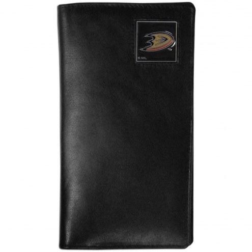 Anaheim Ducks Leather Tall Wallet