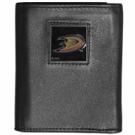 Anaheim Ducks Leather Tri-fold Wallet