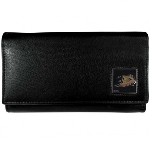Anaheim Ducks Leather Women's Wallet