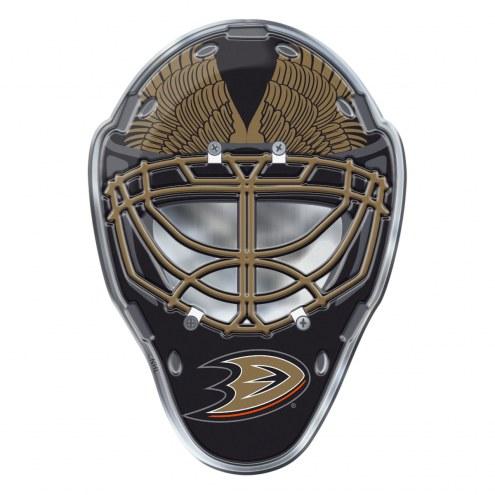 Anaheim Ducks Mask Car Emblem