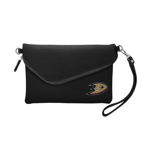Anaheim Ducks Pebble Fold Over Purse