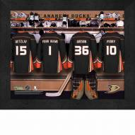 Anaheim Ducks Personalized 11 x 14 Framed Photograph