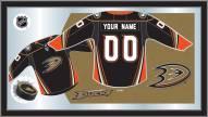 Anaheim Ducks Personalized Jersey Mirror