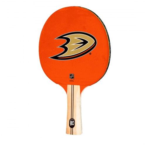 Anaheim Ducks Ping Pong Paddle
