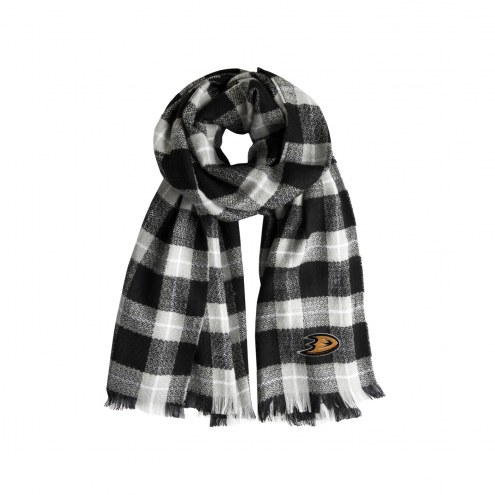 Anaheim Ducks Plaid Blanket Scarf