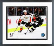 Anaheim Ducks Rickard Rakell Action Framed Photo