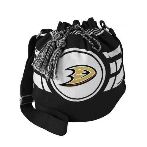 Anaheim Ducks Ripple Drawstring Bucket Bag