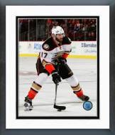 Anaheim Ducks Ryan Kesler Action Framed Photo