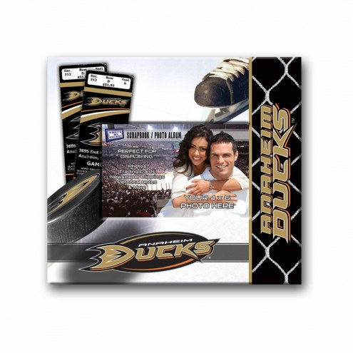 Anaheim Ducks Scrapbook